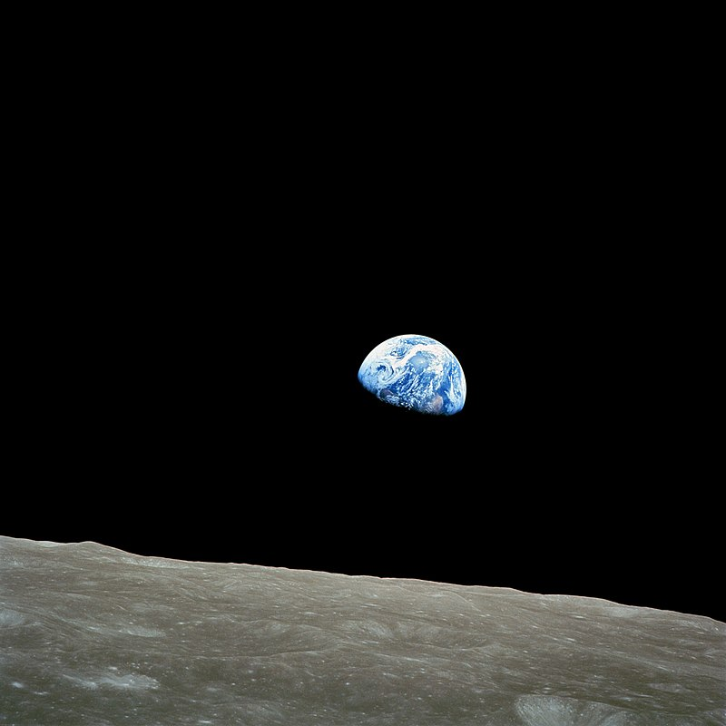 Die Erde vom Mond - Apollo 8