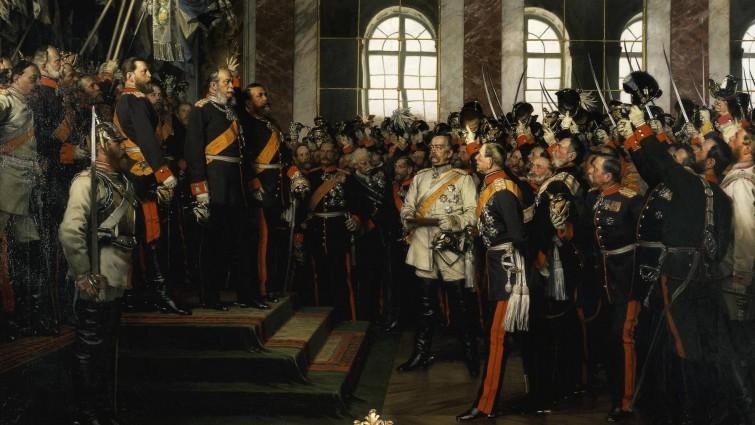 bild proklamation kaiserreich