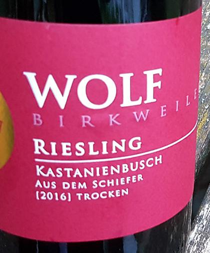 Wolf Riesling Kastanienbusch